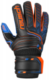 Reusch Attrakt S1 Junior 5072215 7083 black blue orange front